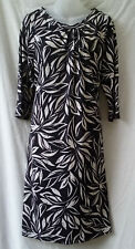 Size 16 Dress Stretch Work Smart Casual Evening Dinner Occasion Travel FREE POST