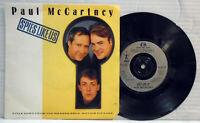 Paul McCartney Spies like us -1985 vinyl 45 RPM record Parlophone R 6118