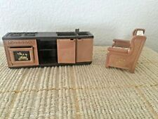 Vintage 1986 Bandai Maple Town Story Miniature Doll Furniture