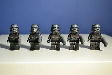 Lego Star Wars - Shadow Storm trooper Minifigure 75079 Lot x5 W/Guns