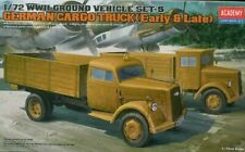 Academy 1/72 Plastic Model Kit German Cargo Truck Early & Late Version 13404