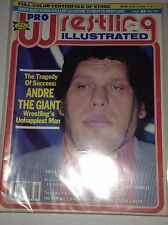 Pro Wrestling Illustrated Magazine Andre The Giant May 1988 111916RH