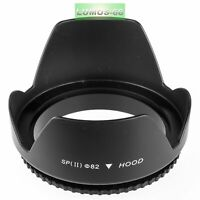 Gegenlichtblende 82mm Sonnenblende f. Canon Nikon Sigma Sony Tamron Tokina 24-70
