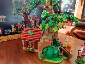 lego 21326 disney Winnie the Pooh built once 1265 pieces