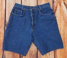 80's High Waist Denim Shorts Size 13 Daniel Hechter Paris Designer Vintage Mom