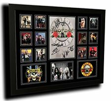 GUNS N ROSES AXEL ROSE SIGNED LIMITED EDITION FRAMED MEMORABILIA