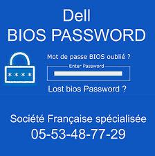 ENLEVER MOT DE PASSE BIOS ET SUPERVISEUR pour Dell Latitude E6410 PP27LA