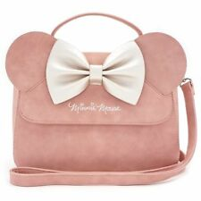 New LOUNGEFLY Disney MINNIE MOUSE Bag Purse Crossbody Handbag PINK