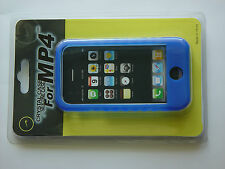 Blue Color Soft Silicone Skin Case Cover for Apple iphone 3 , 3G , 3GS