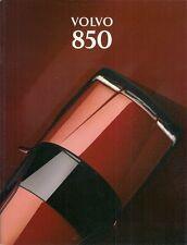 Volvo 850 1993-94 UK Market Sales Brochure Saloon Estate Turbo GLT SE 2.0 2.5