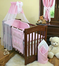 LOVELY  CANOPY DRAPE + HOLDER  FOR  BABY COT/COTBED/COT BED