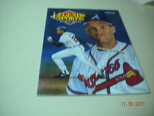 Legends Sports Memorabilia 1992 David Justice, Braves.