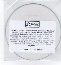 (DQ275) Fresh Touch, The Ethiopian EP - DJ CD