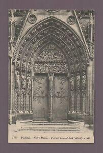 Paris - Notre Dame - Portal Seiten- Süd (H1719)
