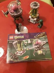 TEENAGE MUTANT NINJA TURTLES LEGO SET 79100 COMPLETE