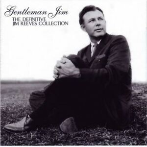JIM REEVES (NEW SEALED 2 x CD) GENTLEMAN JIM THE DEFINITIVE COLLECTION GREATEST