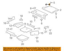 JAGUAR OEM 07-15 XKR INTERIOR-REAR BODY-Package Tray Trim Pin C2P5141LEG