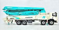 1:50 Scale Korea Oiginal EVERDIGM Concrete Pump Truck Model Collection Free ship