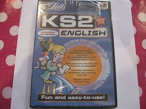 LETTS PC CD KS2 English + Maths Interactive Revision Guides Age 7-11 New Sealed