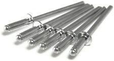 """All Aluminum POP Rivet - 3-4, 3/32"""" x 1/4"""" Gap (0.126 - 0.250) Qty-250"""