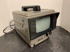 "Sharp Sidekick Mini Portable TV 3s-62 B&W 5"" Screen"