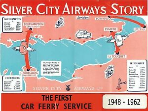 SILVER CITY AIRWAYS: HOW THE 1st CROSS-CHANNEL SERVICE WAS BORN, EXPANDED & DIED