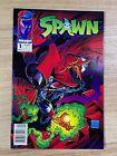 Spawn #1 (1992 Image Comics) 1st Print Newsstand Variant