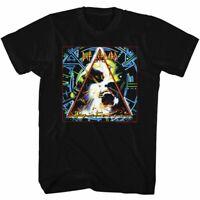 Def Leppard Mens Short Sleeve T-Shirt Black Hysteria 3 Crewneck Graphic Tee