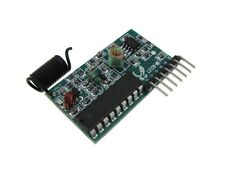 4 Channel 433MHz Receiver module Decoder SC2272-L4