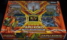 Tapu Koko Figure Collection Box Pokemon Trading Cards Game Pack Package Sealed