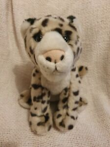 Used Twycross zoo Soft Toy plush Leopard 8 inches