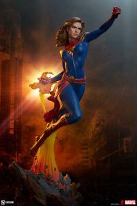 Sideshow Captain Marvel Avengers Assemble Statue