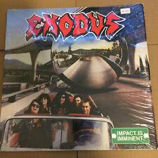 Exodus Impact is Imminent LP Overkill Metallica Megadeth Testament Anthrax