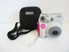 FujiFilm Instax Mini 7S Instant Film Camera + Case Tested/Working