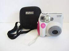 FujiFilm Instax Mini 7S Instant Film Camera + Case Tested/Working