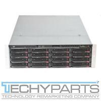 Supermicro CSE-836 BPN-SAS2-EL1 2x 700W PSUs 3U Case Rackmount Server Chassis