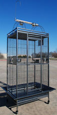 """Large 78"""" Bird Parrot Play-Top Cage Cockatiel Macaw Conure African Grey Conures"""
