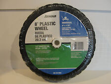 "New Arnold 8"" x 1.75"" Plastic Wheel, 35 lb. Load Rating 490-322-0003"