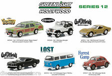 HOLLYWOOD SERIES / RELEASE 12, SET OF 6 CARS 1/64 BY GREENLIGHT 44720