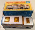 Matchbox Lesney No 66 Greyhound Bus Black underside with VG Box used.