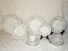 8 piece Place Setting Dinnerware Summer Chintz Johnson Brothers Made in England