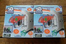 2 x Mookie 3D Magic Construction Set Kits Toys Model