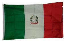 Italy Greater Coat Of Arms Crest Modern On Italian Flag 3 X 5 3X5 Feet New