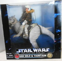 STAR WARS COLLECTOR SERIES HAN SOLO & TAUNTAUN POSE ABLE FIGURES 1997