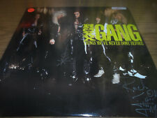 ROXX GANG SIGNED/AUTOGRAPHED VINYL RECORD JEFF TAYLOR & ROBY STRINE