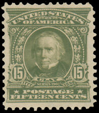 1903 15c OLIVE GREEN MINT #309. well-centered MLH choice $185.00