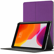 iPad 10.2 Case Stand, Apple iPad 10.2 2019 Cover 7th Generation - Purple +Stylus