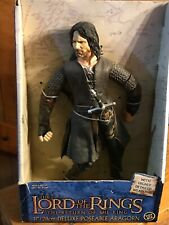 """Aragorn 12"""" figure in box Lord of the Rings The Return of the King with box"""