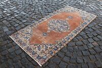 Turkish area rug, Bohemian rug, Vintage rug, Wool rug, Carpet   2,9 x 6,0 ft