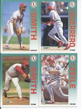 1992 Fleer St. Louis Cardinals Team Set